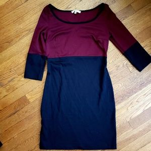 Bb Dakota color block dress